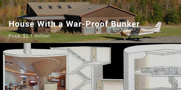 house with a war proof bunker