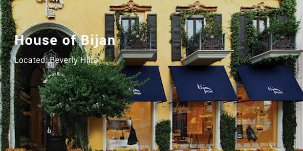 house of bijan