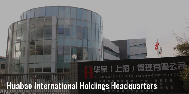 huabao international holdings headquarters