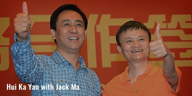 hui ka yan with jack ma