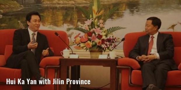 hui ka yan with jilin province