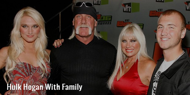 hulk hogan with family