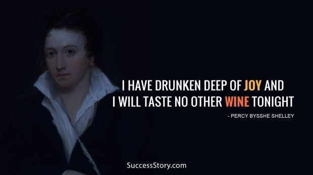 i have drunken deep