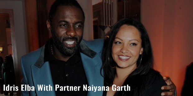 idris elba with partner naiyana garth