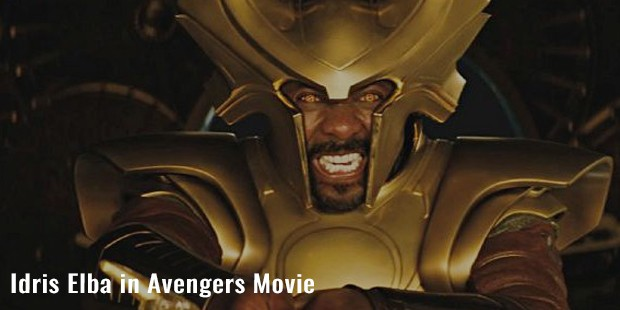 idris elba in avengers movie