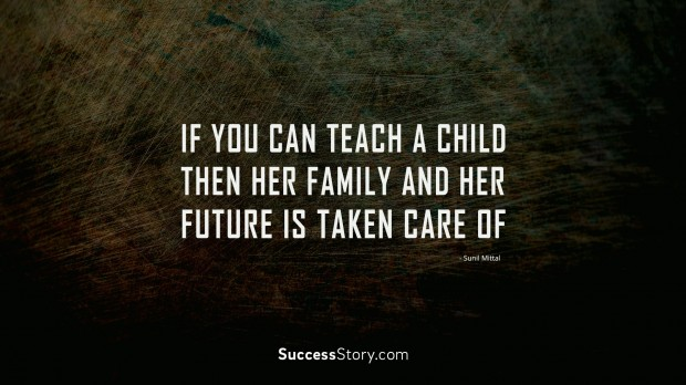 If you can teach a child