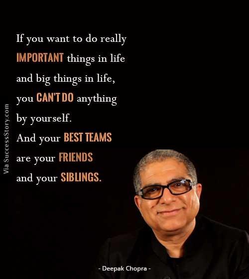 Deepak Chopra Best Quotes: If