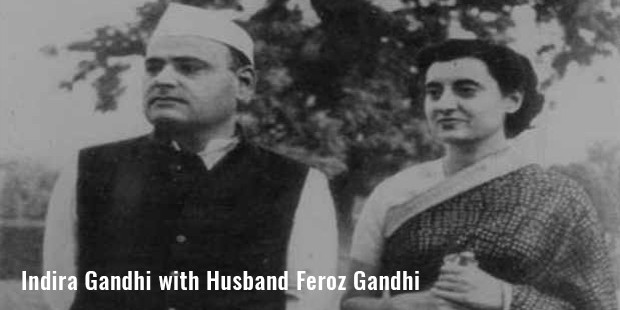 indira gandhi with husband feroz gandhi