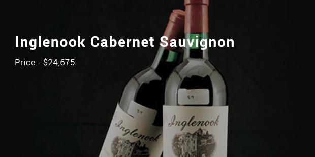 inglenook cabernet sauvignon