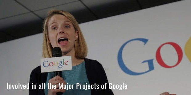involved in all the major projects of google