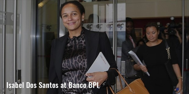 isabel dos santos at banco bpi