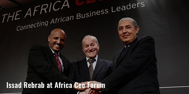 issad rebrab at africa ceo forum