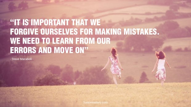 It is important that we forgive