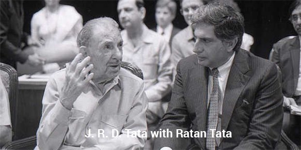 jrd tata with ratan tata