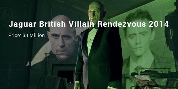 jaguar british villain rendezvous 2014