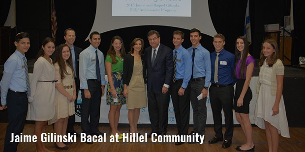 jaime gilinski bacal at hillel community