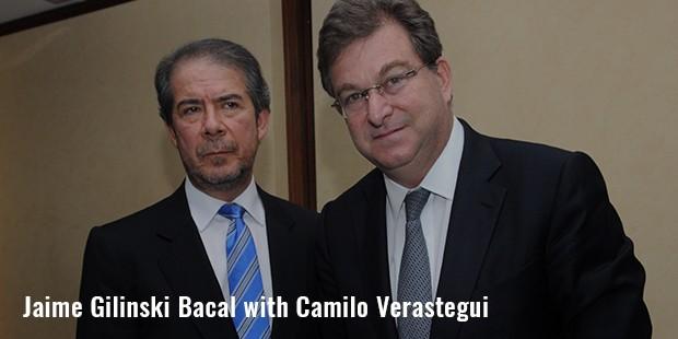 jaime gilinski bacal with camilo verastegui