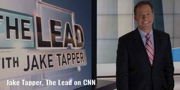 jake tapper, the lead on cnn