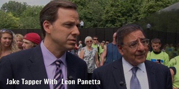 jake tapper with  leon panetta
