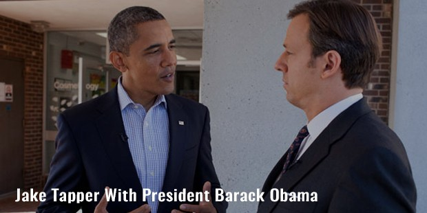 jake tapper with president barack obama
