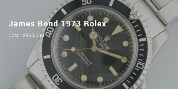 james bond 1973 rolex