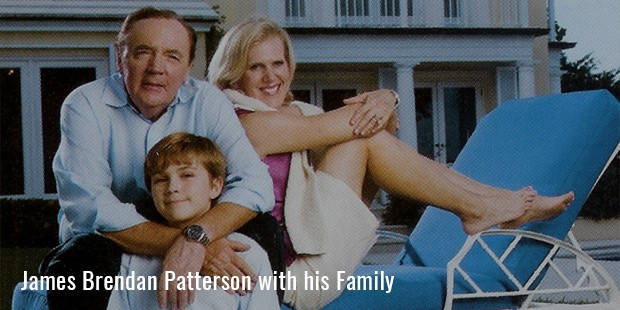 James Brendan Patterson with his Family