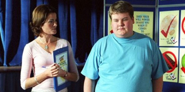 james codren in fat friends