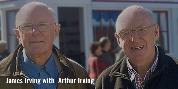 james irving with  arthur irving