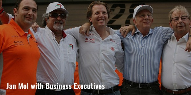 jan mol with business executives