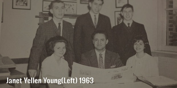 janet yellen young left  1963