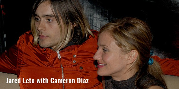 jared leto with cameron diaz
