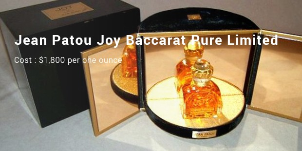 jean patou joy baccarat pure limited
