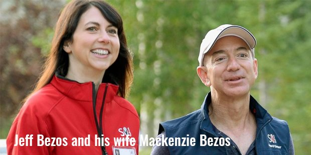 jeff bezos and his wife mackenzie bezos