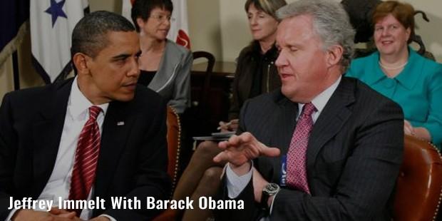 jeffrey immelt with barack obama