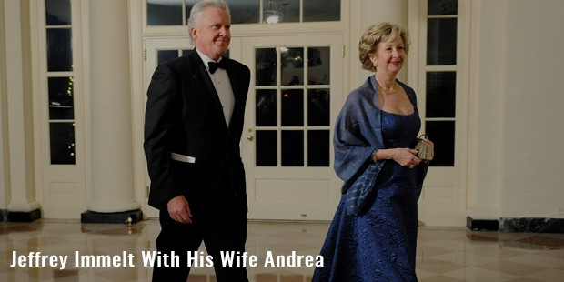 jeffrey immelt with his wife andrea