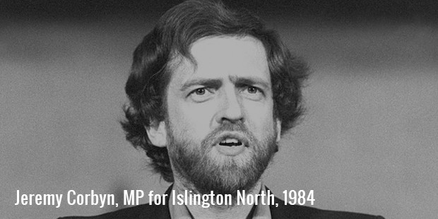 jeremy corbyn, mp for islington north, 1984