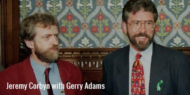 jeremy corbyn with gerry adams
