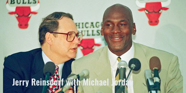 jerry reinsdorf with michael jordan
