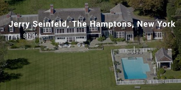 jerry seinfeld, the hamptons, new york