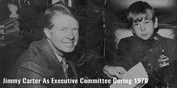 jimmy carter as executive committee during 1970
