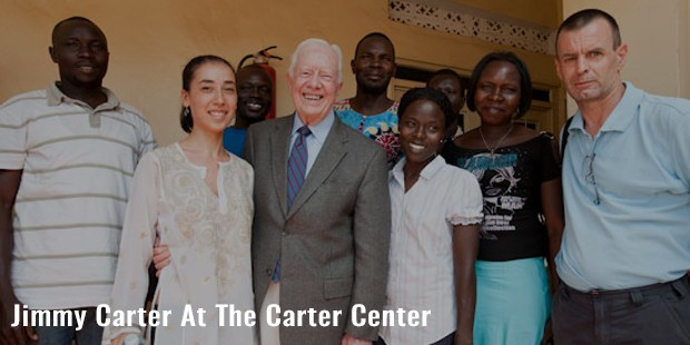 jimmy carter at the carter center