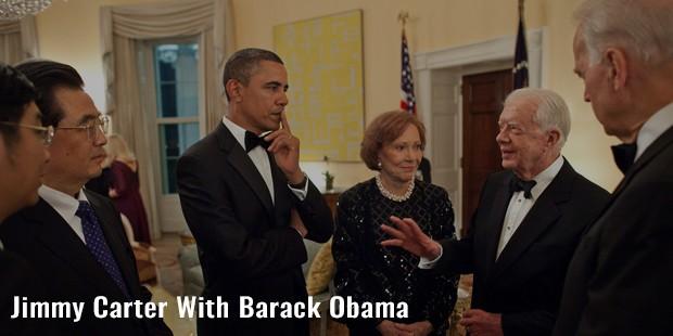 jimmy carter with barack obama