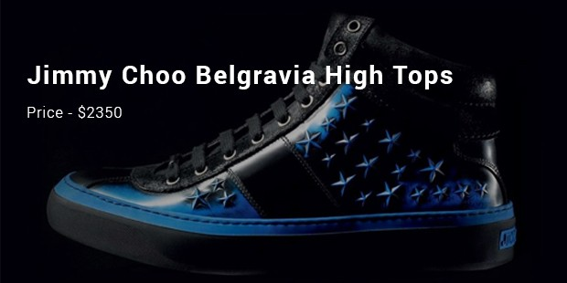 jimmy choo belgravia high tops