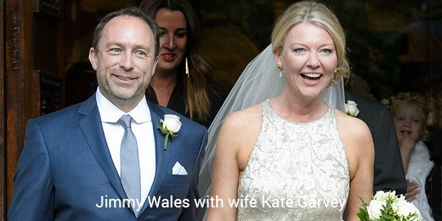 jimmy wales with wife kate garvey