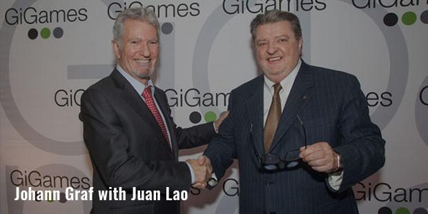 johann graf with juan lao