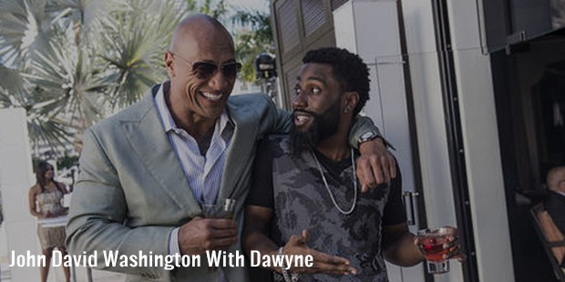 john david washington with dawyne