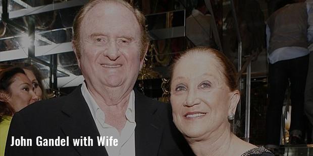 john gandel with  wife