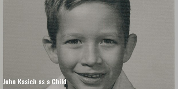 john kasich as a child