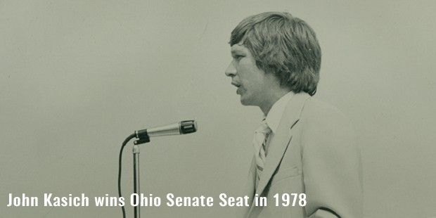 john kasich wins ohio senate seat in 1978