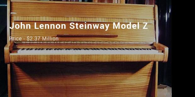 john lennon steinway model z